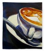 Cafe Noisette Fleece Blanket