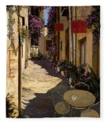 Cafe Piccolo Fleece Blanket