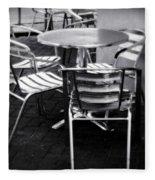 Cafe Seating Fleece Blanket