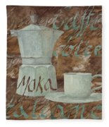 Caffe Espresso Fleece Blanket