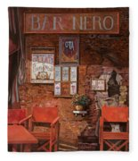 caffe Nero Fleece Blanket
