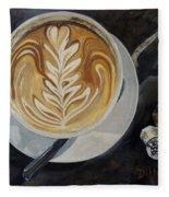 Caffe Vero Cappie Fleece Blanket