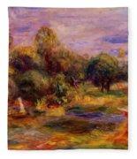 Cagnes Landscape 1908 Fleece Blanket