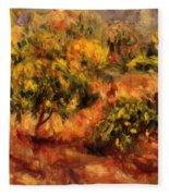 Cagnes Landscape 1919 Fleece Blanket