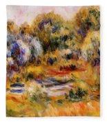 Cagnes Landscape 2 Fleece Blanket