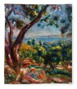 Cagnes Landscape With Woman And Child 1910 Fleece Blanket