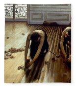 Caillebotte: Planers, 1875 Fleece Blanket