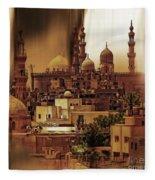 Cairo Egypt Art 03 Fleece Blanket