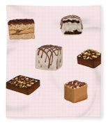 Cakes De02 Fleece Blanket