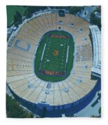 Cal Memorial Stadium Fleece Blanket