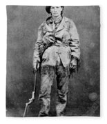 Calamity Jane (1852-1903) Fleece Blanket