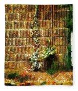 Calico Wall Fleece Blanket