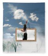 Califonia Dreaming  Fleece Blanket