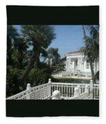 California Balcony Fleece Blanket
