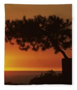 California, Big Sur Coast Fleece Blanket