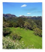 California Highlands Fleece Blanket