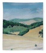 California Highway Fleece Blanket