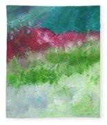 California Landscape- Expressionist Art By Linda Woods Fleece Blanket