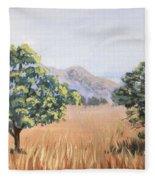 California Landscape. Fall Fleece Blanket