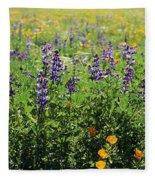 California Meadow Fleece Blanket