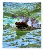 California Sea Lion-1611 Fleece Blanket