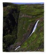California Spring Falls Fleece Blanket