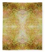 California Spring Inner Reflection Fleece Blanket