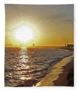 California Sunset Fleece Blanket
