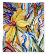 California Wildflowers Series I Fleece Blanket