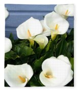 Calla Lilies- Oregon Fleece Blanket