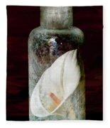 Calla Lily In A Bottle Fleece Blanket