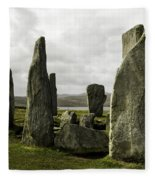 Callanish Stones Fleece Blanket