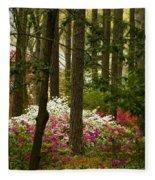 Callaway Gardens Spring Azaleas Fleece Blanket
