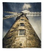 Callington Mill In Oatlands Tasmania Fleece Blanket
