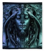Calliope - The Superior Muse Fleece Blanket