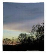 Calm On The Horizon Fleece Blanket