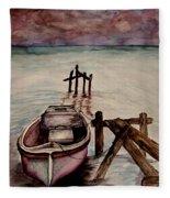 Calm Waters Fleece Blanket