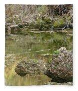 Calm Waters Scenery Fleece Blanket