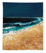 Calming Waters Fleece Blanket