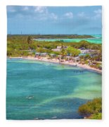 Calusa Beach Fleece Blanket