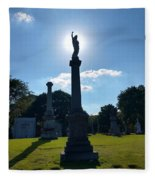 Calvary Catholic Cemetery Fleece Blanket