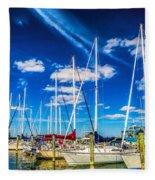 Cambridge Marina Fleece Blanket