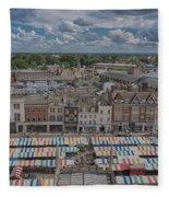 Cambridge Market Fleece Blanket
