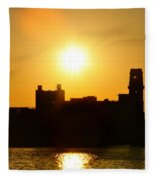Camden Sunrise Fleece Blanket