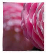 Camellia 2 Fleece Blanket