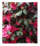 Camelia Fleece Blanket