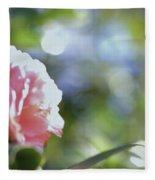 Camellia And Early Light Fleece Blanket