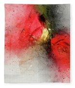 Camellia Burst Fleece Blanket