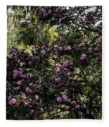 Camellia Tree Fleece Blanket