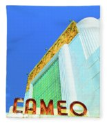 Cameo Theatre Fleece Blanket